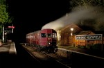 © Alan Ward  <em>Night Train - Steam Railmotor 93</em>