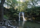 © Sarah France  <em>Janet's Foss waterfall and pool</em>
