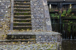 © Peter Robinson  <em>Stairs at Twin Locks</em>