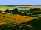 © Margaret Smith  <em>Yorkshire Wolds</em>